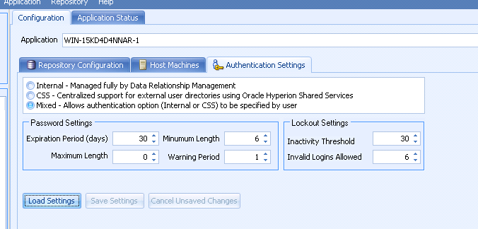 Oracle Data Relationship Management with external